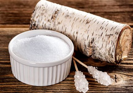 What is xylitol - birch tree sugar.