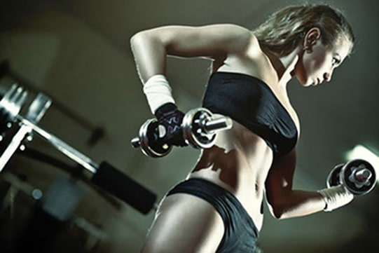 gym and fat burning - weight training