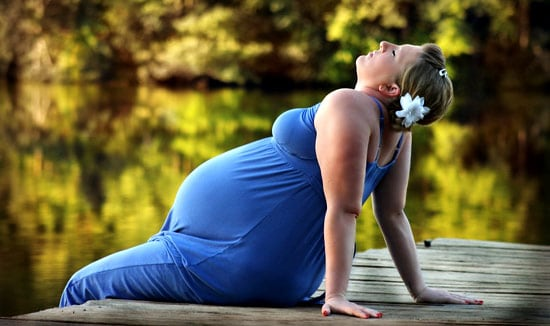 Women's Health: pregnant woman relaxing