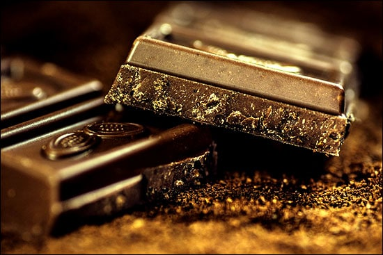 Dark chocolate is one of the best foods for skin