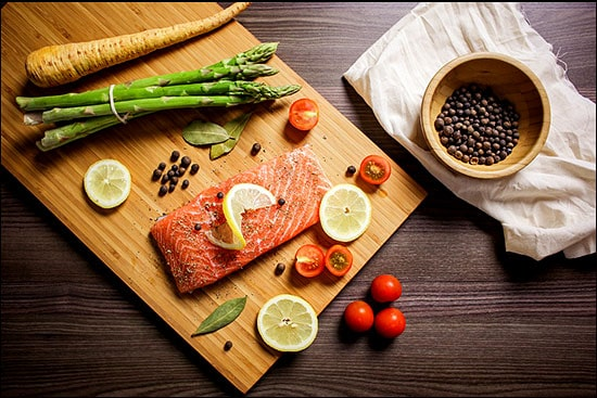 organic salmon in 3 day detox diet cleanse