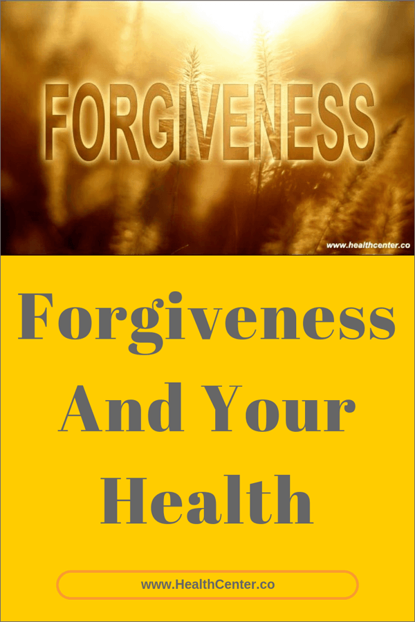 Forgiveness And Your Health Research And Conclusions