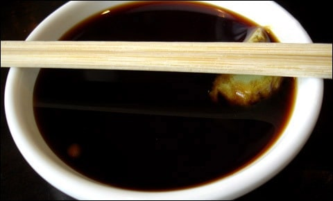 Soy sauce.