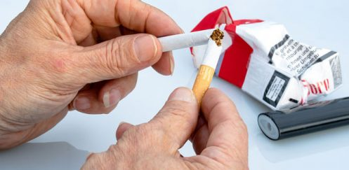Smokers who've managed to quit, are in love with fruits.